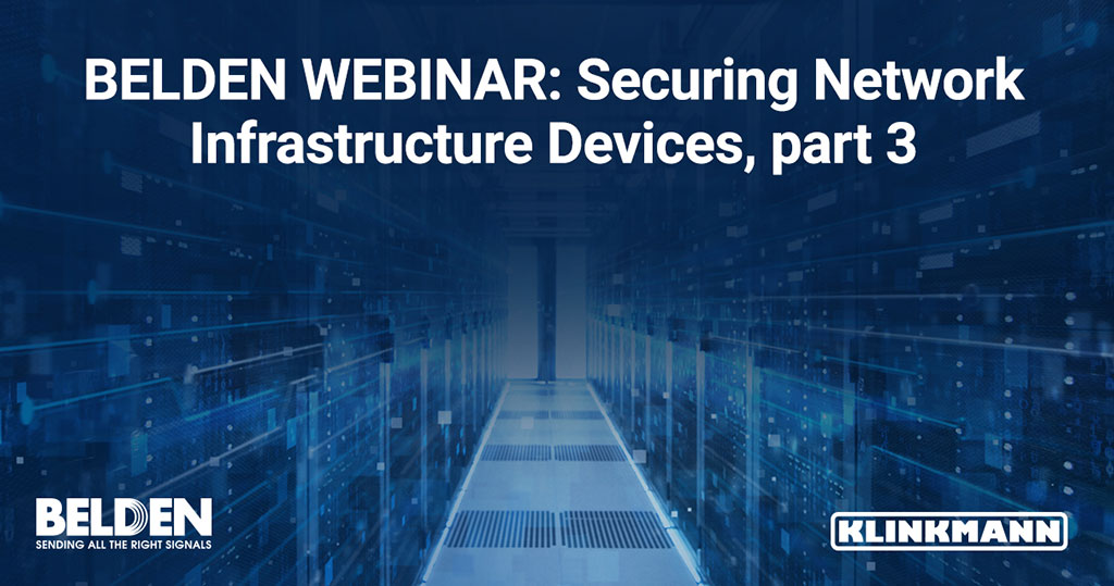 Securing Network Infrastructure Devices