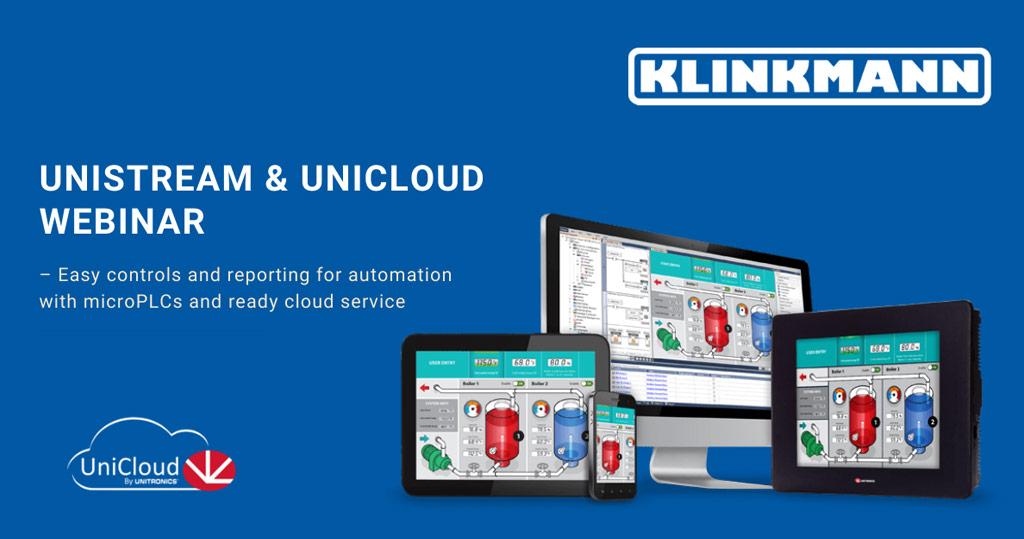 Unitronics UniStream and UniCloud Webinar